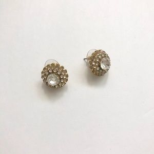 Crystal stone stud earrings from BR